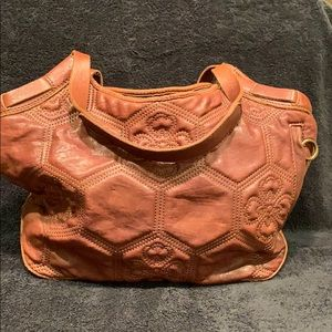 Lucky Brand quilted leather bag